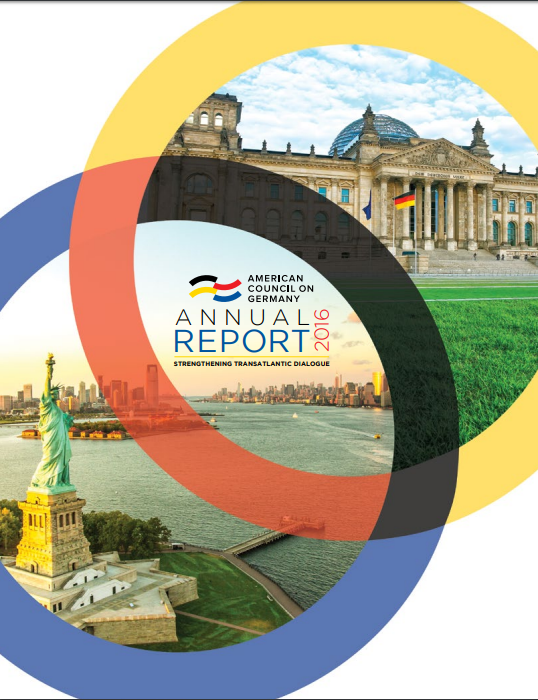 Annual Reports | American Council On Germany